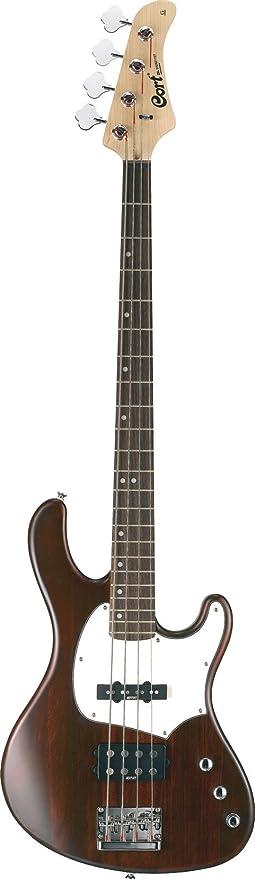 Cort GB34A juego de guitarra eléctrica-madera de nogal: Amazon.es ...