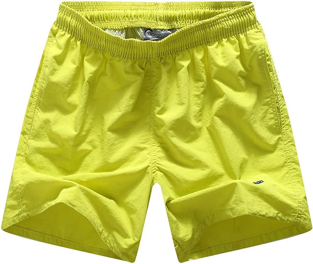 DREAMING-Pantalones De Playa De Verano Pantalones De Playa De Secado Rápido para Hombres Pantalones Cortos Deportivos De Torre De Terciopelo