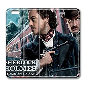 iCustomonline Sherlock Holmes PU Leather Cover for iPhone 6( 4.7 inch) by ruishername