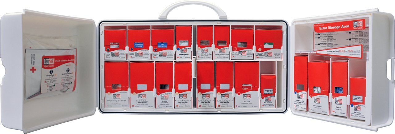 DayMark Wall-Mountable Standard First Aid Kit, OSHA Compliant by DayMark Safety Systems