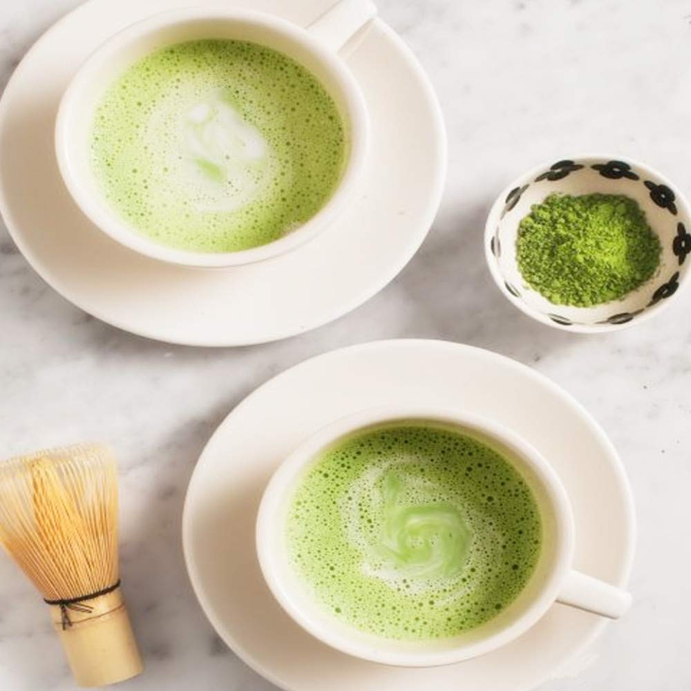 Yan Hou Tang Organic Matcha Green Tea Powder 100 Gram - Japanese Jade Leaf Classic Culinary Premium Grade Food Drink Smoothies coffee ice cream Baking Recipes Antioxidants Energy