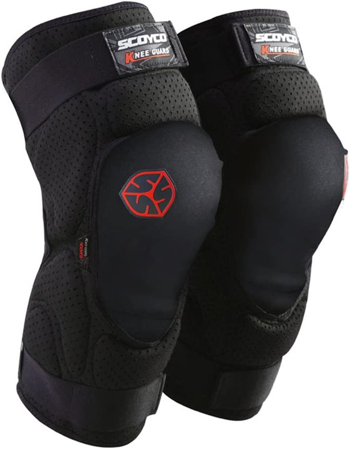 Scoyco K19 Motorcycle Knee Guards Motocross Knee Pads Braces Off Road Protective Gear Yuan Dong Sen