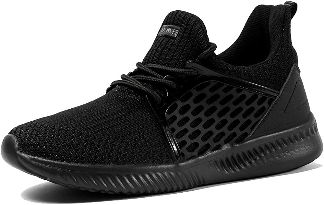 VAMV Men s Walking Sneakers Casual Athletic Ultra-Lightweight Running Gym Shoes