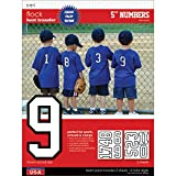 SEI 5-Inch Iron-On Team Pack Athletic Number
