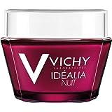 Vichy Idéalia Night Cream with Hyaluronic Acid and Caffeine, 1.69 Fl. Oz