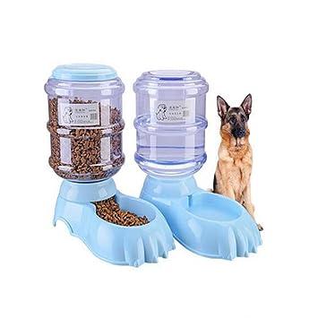 JL Alimentador Automático De Mascotas Mascotas Dispensador De Agua 3.8L Recarga Fácil El Mejor Alimentador Automático para Perros para Mascotas Pequeñas ...