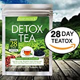 Nature Ace 28 Day Detox Tea - Best For Teatox, Body Cleanse, Bloating and Body Fat Reduction, Liver + Skin Detox, Weight Loss - 100% Natural Organic Chinese Herbs - For Men & Women - Premium Tea Bags