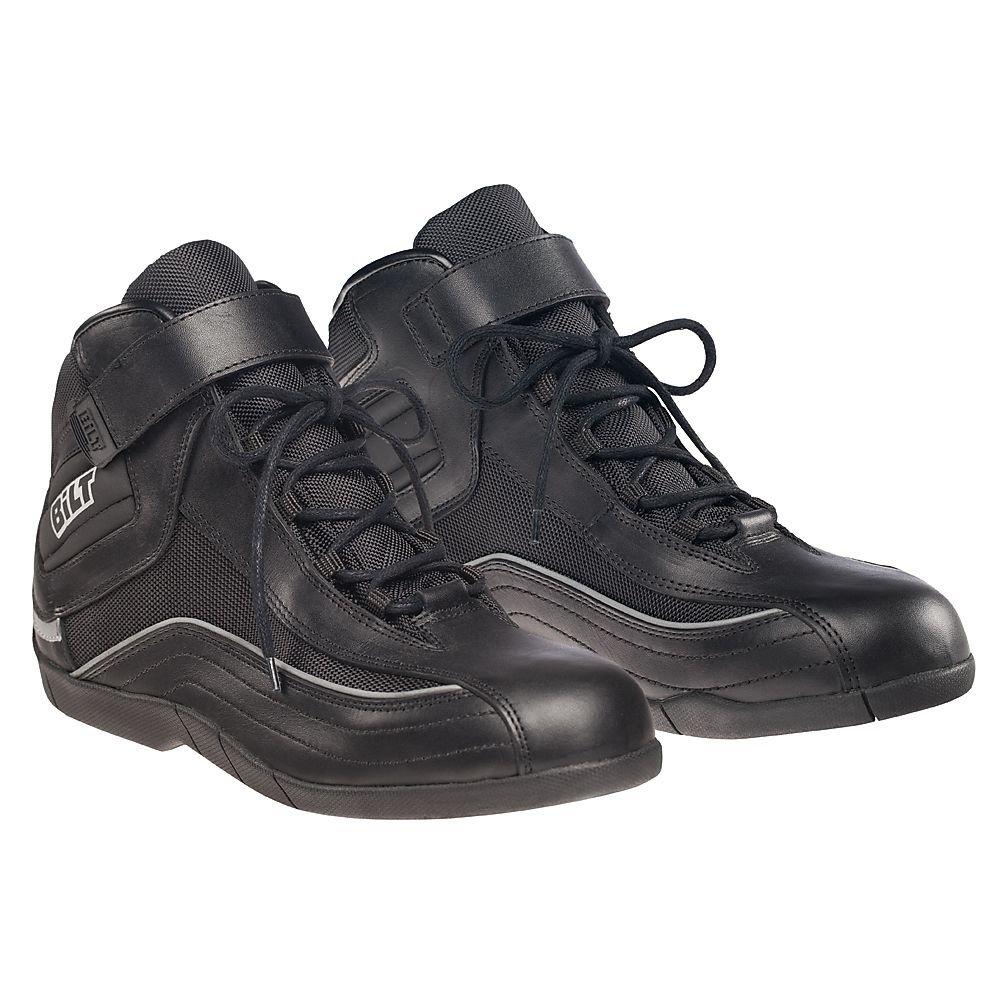 BILT Pit Motorcycle Boots - 10, Black