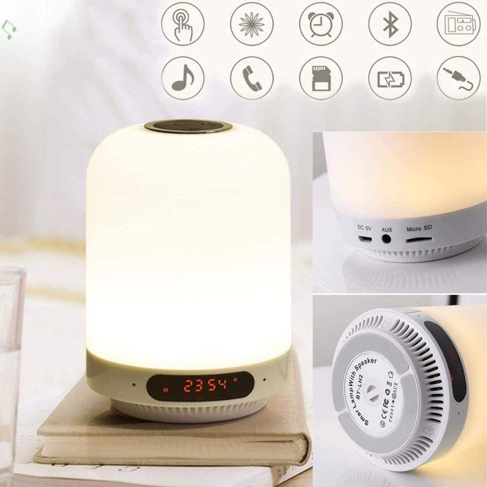 XY M Colorful dimming Alarm Clock Wake Up Light, Intelligent