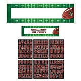 Amscan NFL Drive Birthday Giant Customizable Banner Multi Paper 65'' x 20'' Pack 7 Party Supplies (42), 726 Pieces