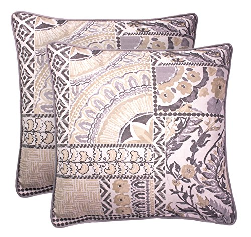 Balmont Collection Lola Printed Accent Pillow (Set of 2), 20