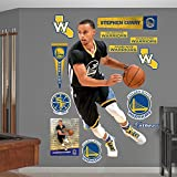 "NBA Golden State Warriors Stephen Curry Point Guard Fathead Real Big Decals, 43""W x 76""H"