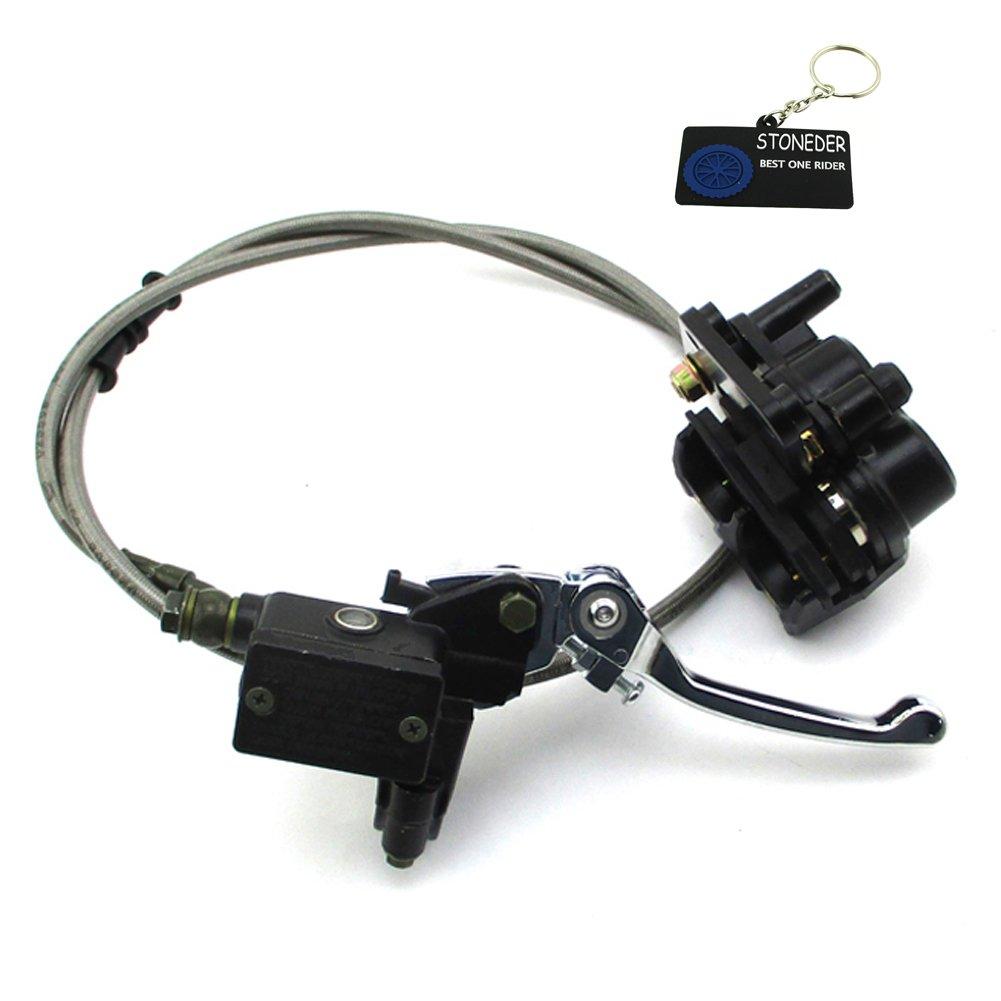 STONEDER Front Hydraulic Master Brake Caliper Assy For Chinese 50cc 70cc 90cc 110cc 125cc 140cc 150cc 160cc 180cc 190cc Pit Dirt Bikes