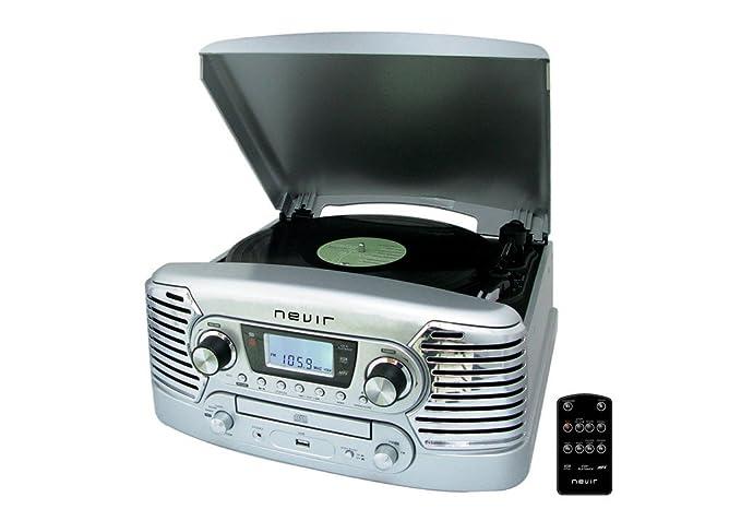 Nevir NVR-801 VMUC PL - Tocadiscos (USB, CD): Amazon.es: Electrónica