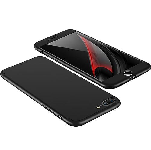 Custodia iPhone 7plus, Pacyer® [3 in 1 Armor] Antiurta Sottilissima Dura Protettiva Custodia Cover C...