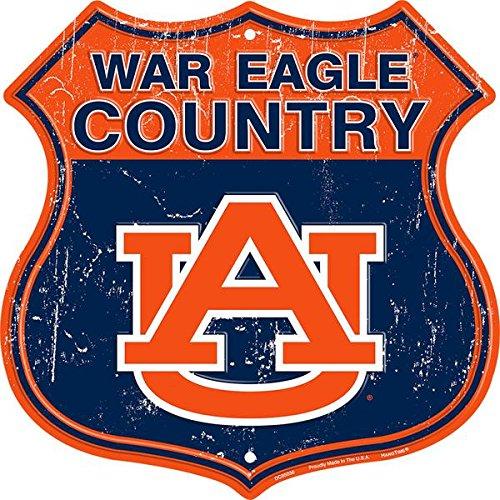 HangTime War Eagle Country - Auburn University Route Sign