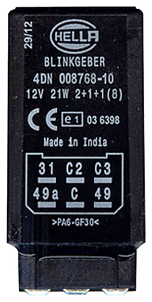 elektronisch HELLA 4DN 008 768-101 Blinkgeber 12V
