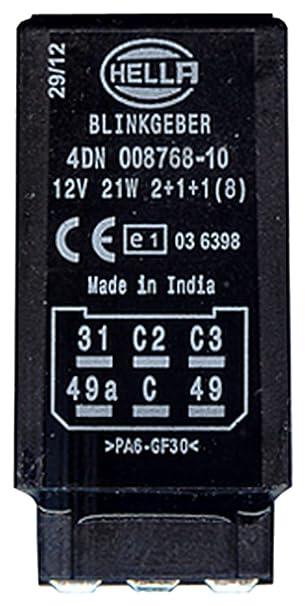 12V elektronisch HELLA 4DN 008 768-101 Blinkgeber
