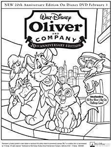 Oliver and Company (20th Anniversary Edition) by Walt Disney Studios Home Entertainment