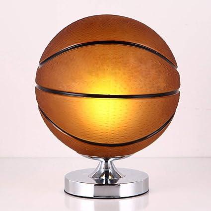 Baloncesto Fútbol Lámparas de mesa Dormitorio Luces de escritorio ...