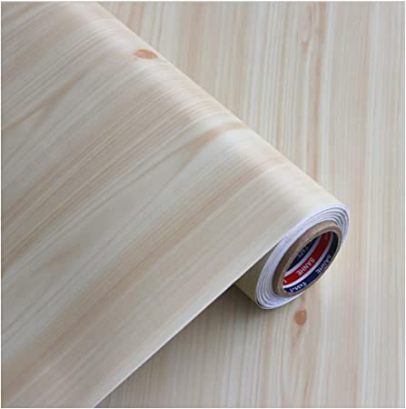 Contact Paper Self Adhesive Removable Wood Peel And Stick Wallpaper Decorative Wall Covering Vintage Wood Panel Interior Film Wood Wallpaper Amazon Co Uk Kitchen Home
