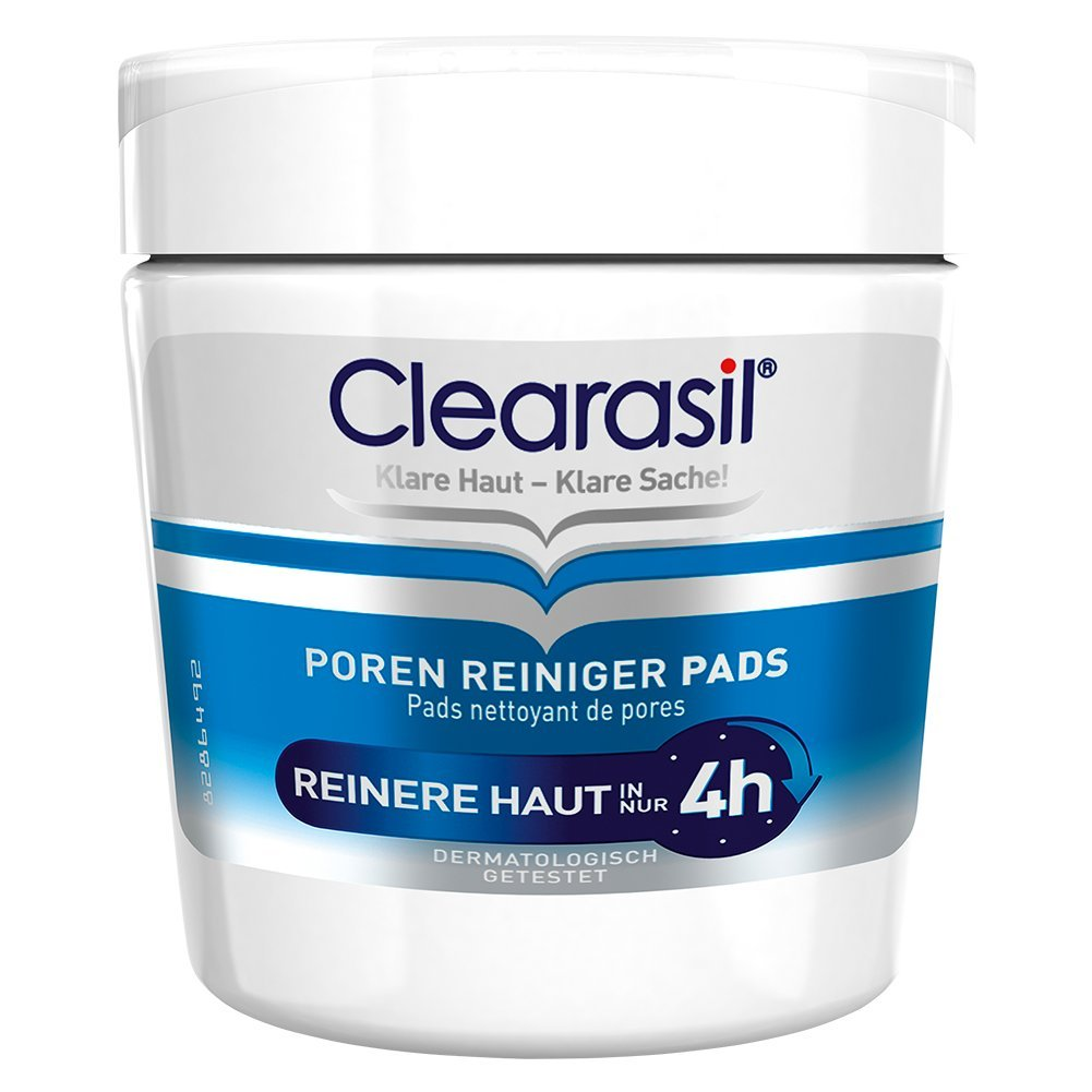 Clearasil - Detergente per pori contro brufoli e impurità della pelle, confezione da 1 (1 x 65 pz.) 48523