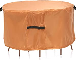 Round Patio Furniture Covers, 64