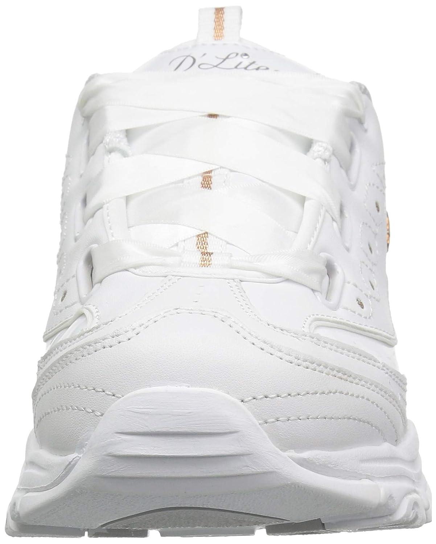 Szczegóły o Skechers D'Lites Memory Foam Women's Casual Fashion Sneakers Lightweight Sport