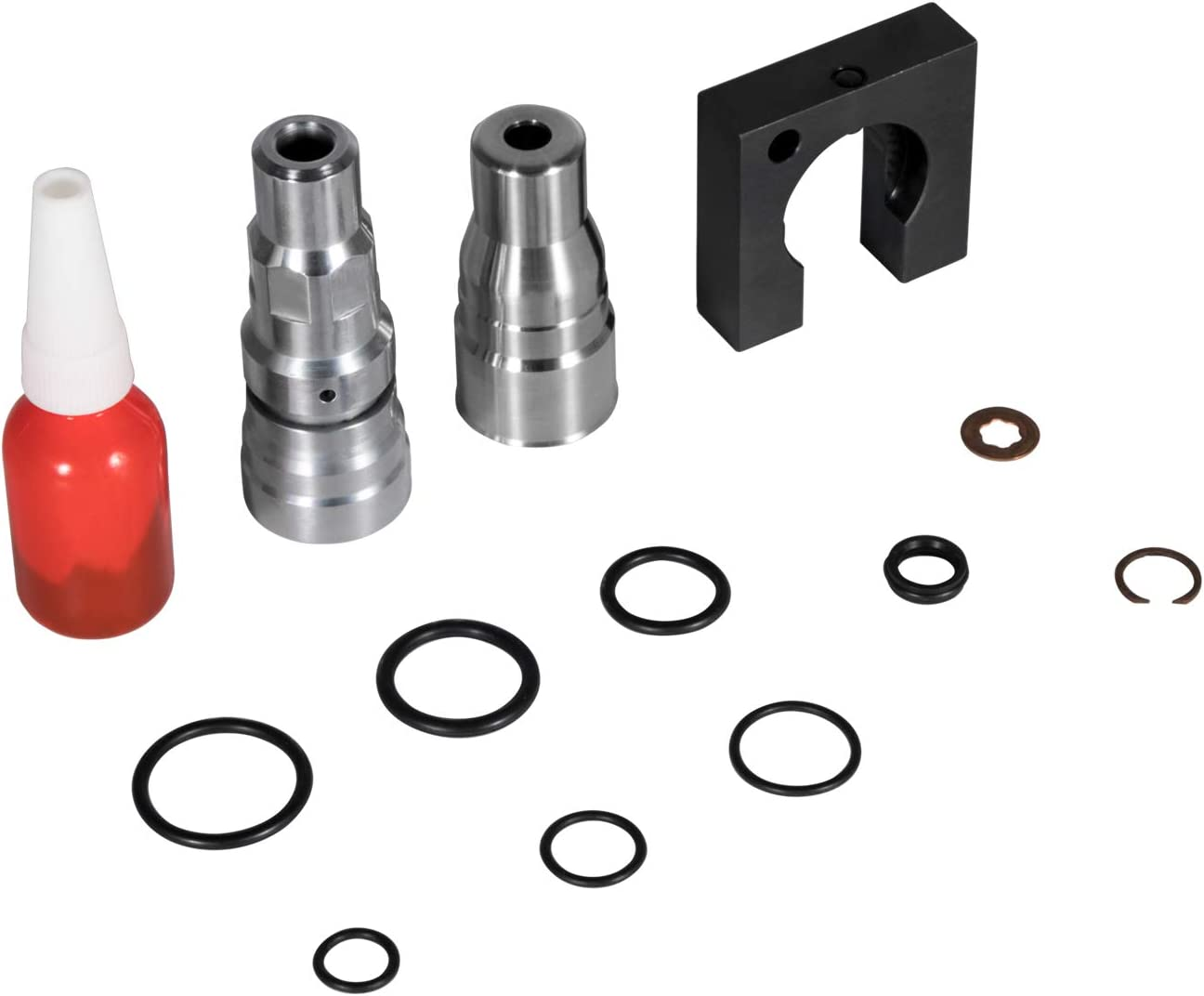 6.0L Powerstroke Engine Head Repair Kit and Fuel Injector Sleeve//Cup Puller and Installer Tool Set for All 2003-2010 6.0L /& 6.4L Ford Powerstroke Engines