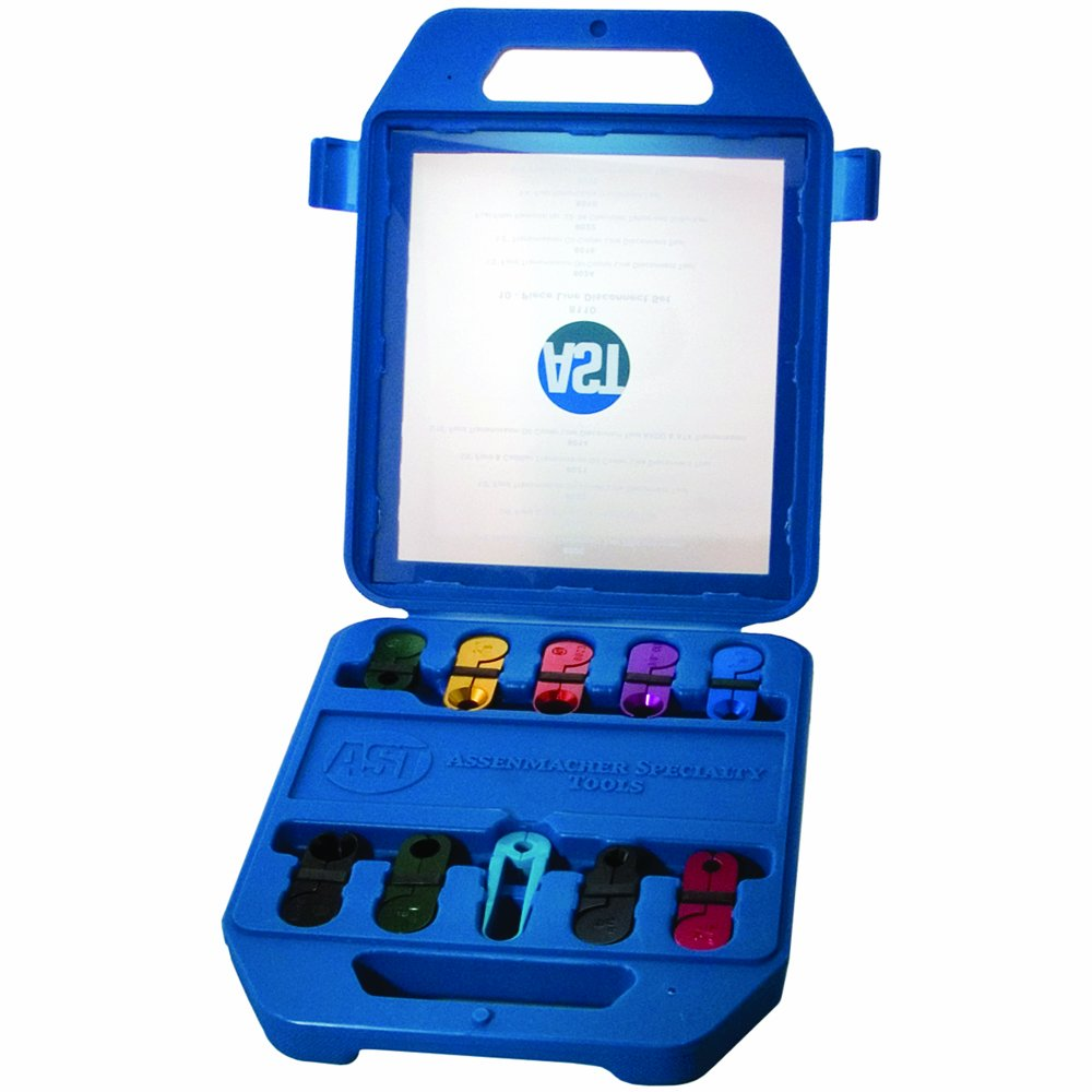 Assenmacher Specialty Tools 8110 Line Disconnect Set - 10 Piece