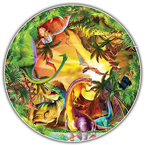 Round Table Puzzle - Kids Edition - Dinos (50 Piece)
