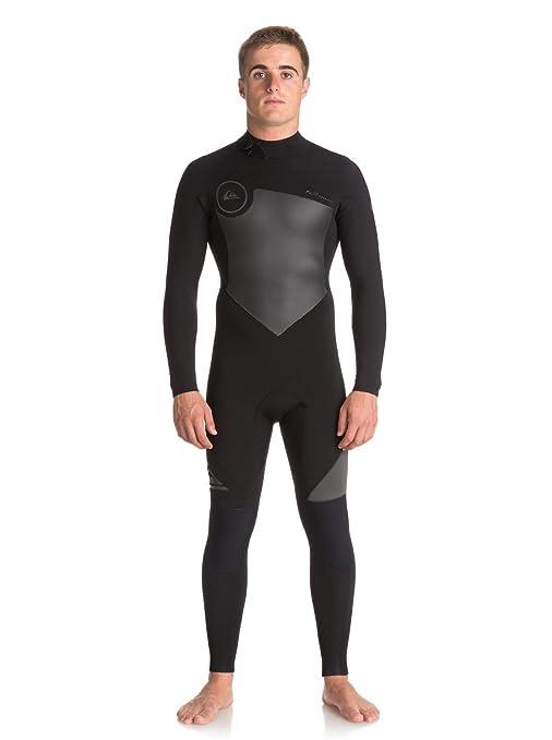 Quiksilver - Traje de Surf GBS con Cremallera Trasera - Hombre - S - Negro