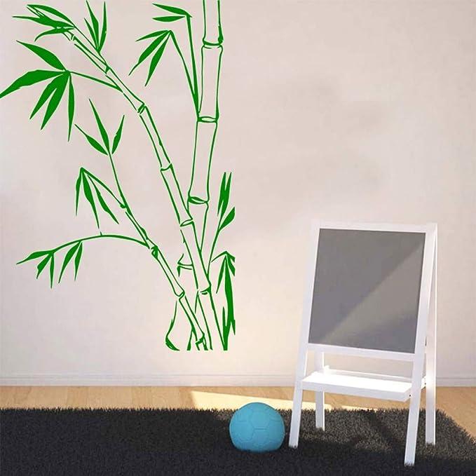 wukongsun Concha de bambú Vegetal Vegetariano Autoadhesivo Vinilo Impermeable Etiqueta de la Pared Sala de Estar habitación de los niños Pegatinas de Pared Papel Pintado Impermeable 58cmX83cm: Amazon.es: Hogar