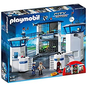 Play Mobil Police Headquarters with...