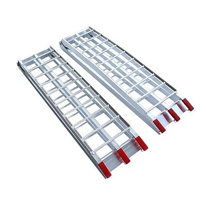 2 X Rampas de carga plegable de aluminio, Longitud 238cm ...