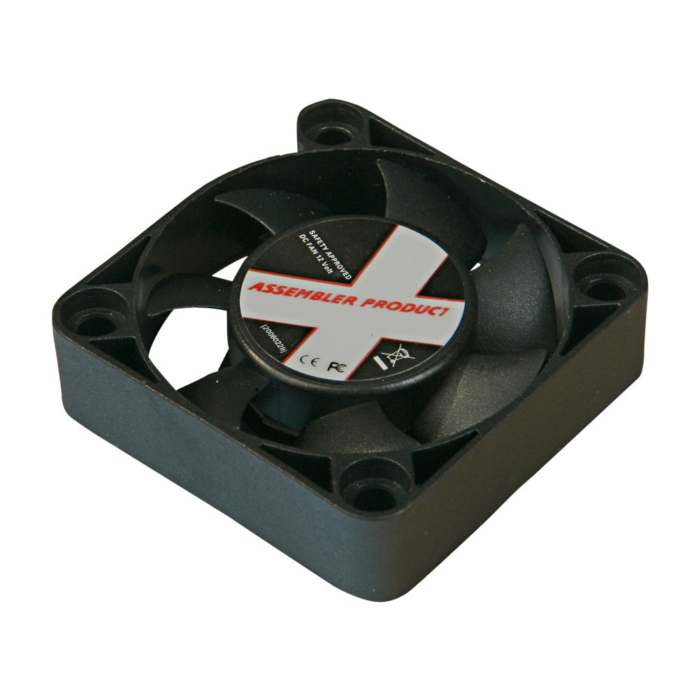 Xilence Fan XPF40 WhitBox 40 x 40 x 1 cm, 12 V, 3P CE Ventilador DC