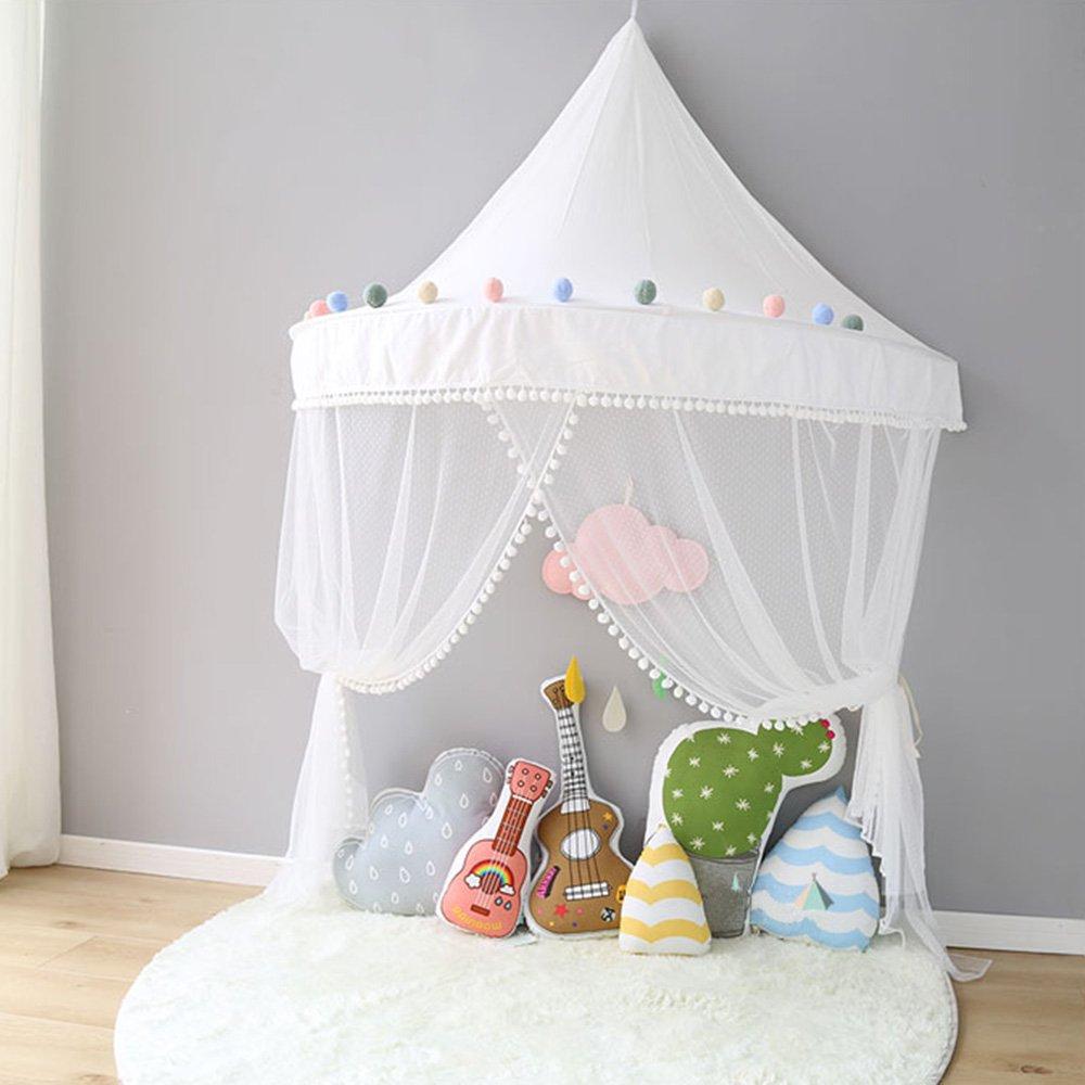 Betthimmel Babybett Baldachin Kinderzimmer Moskitonetz Bett Baby