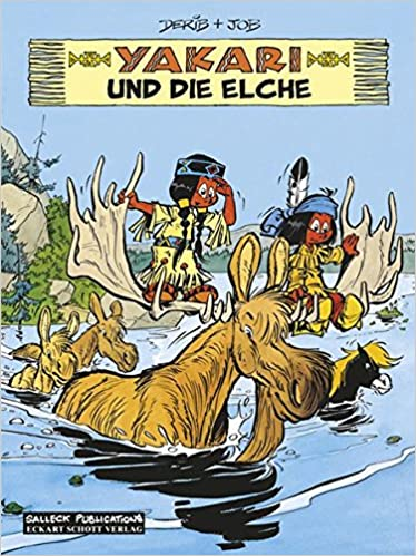 Amazon.com: Yakari 09. Yakari und die Elche (9783899082982 ...
