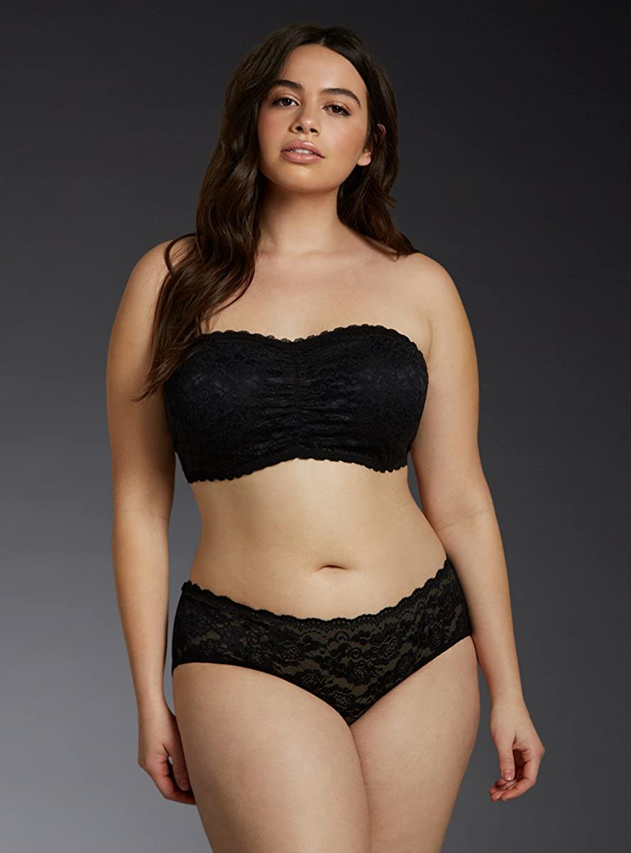 f8bb3cfe5cd13 Torrid Lace Bandeau at Amazon Women s Clothing store