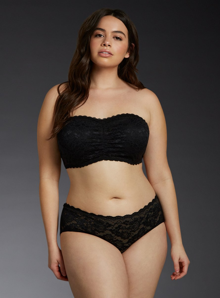 Torrid Cage Back Lace Hipster Panty