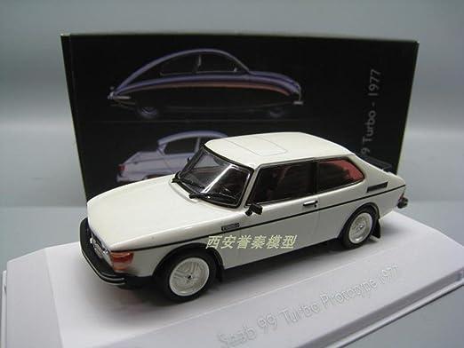 Amazon.com: bo wen 1/43 SAAB 99 TURBO PROTOTYPE 1977 CAR MODEL: Toys & Games