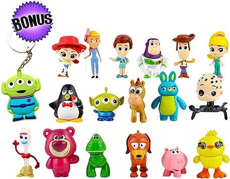 Amazon.com: Toy Story figuras de acción – Juego de 17 ...