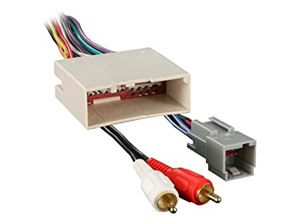 amazon com metra 70 5521 radio wiring harness for ford 03 up amp Ford Stereo Wiring Harness at Ford Radio Wiring Harness Connectors