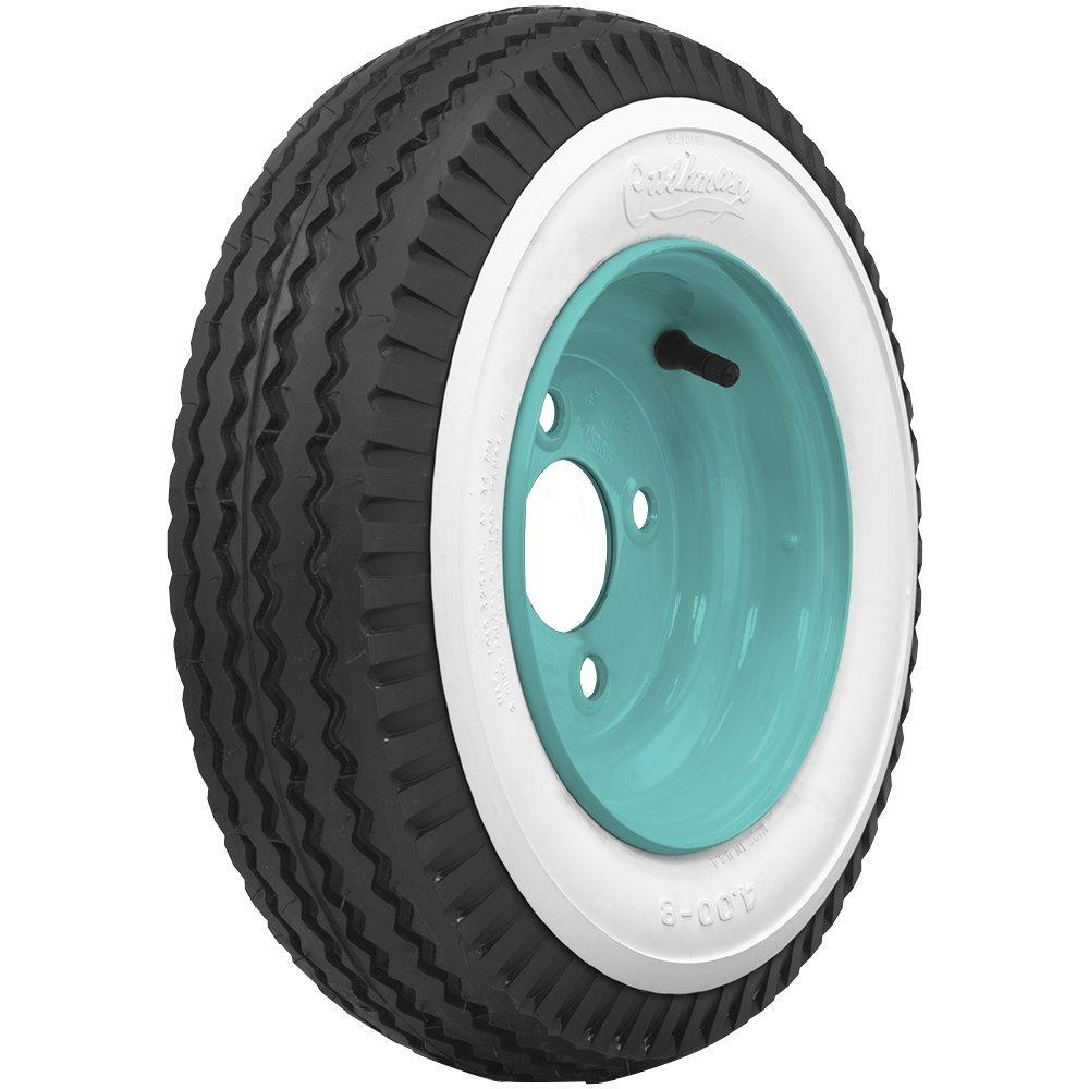 Coker Tire 50185 Cushman Scooter Tire 2 1/4 Inch Whitewall 400-8
