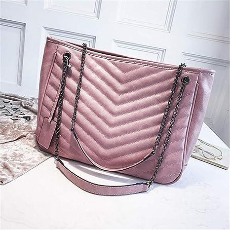 ad0e9e299e9d Amazon.com: LIUGHGB Female Bag Summer Girls Leather Bags for Women ...
