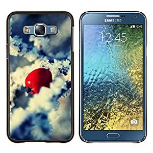 """For Samsung Galaxy E7 E700 , S-type Naturaleza Hermosa Forrest Verde 56"""" - Arte & diseño plástico duro Fundas Cover Cubre Hard Case Cover"""