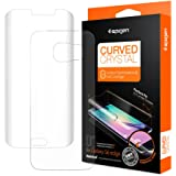 Spigen SGP11537 Film de protection d'écran pour Samsung Galaxy S6 Edge Transparent