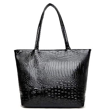 Amazon.com: Bolso para mujer, estilo moderno, de cocodrilo ...