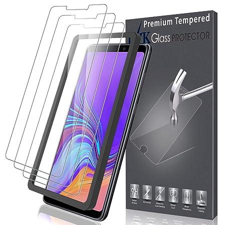K&L LK Schutzfolie für Samsung Galaxy A9 2018 [3 Stück], Samsung Galaxy A9 2018 Panzerglas, [Alignment Frame Einfache Install
