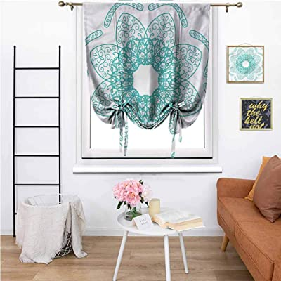 "Printed Curtain Persian Style Oriental,Courtyard Porch Gazebo Decoration 33""x64"": Home & Kitchen"